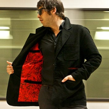 Red Dragon Reversible Smoking Jacket - Betabrand