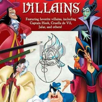 Learn to Draw Disney Villains (Learn to Draw)