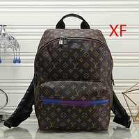 Louis Vuitton LV Women Leather Bookbag Shoulder Bag Handbag Backpack