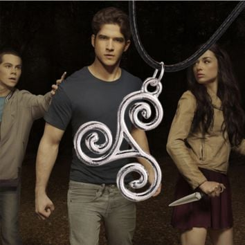 Teen Wolf Triskele Necklace Jewelry