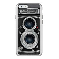 Cool Vintage camera metal iPhone 6 silver case