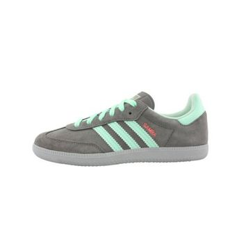 Womens adidas Samba Athletic Shoe, Grey/Teal, at Journeys Shoes