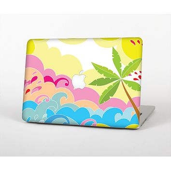 The Cartoon Bright Palm Tree Beach Skin for the Apple MacBook Air 13""