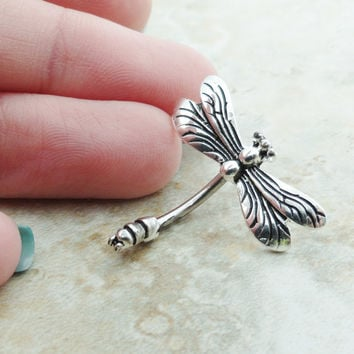 Dragonfly Belly Button Jewelry Ring In-N-Out