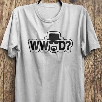 Heisenberg T Shirt - WWHD? - Breaking Bad Tshirt - Heisenberg T-Shirt - Mr white, Black Friday, Boxing day, Christmas Blowout Clearance Sale