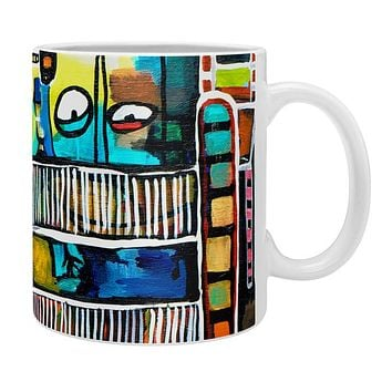 Robin Faye Gates Musical Chairs Coffee Mug