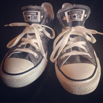 studded custom gray converse all stars chuck taylors all sizes colors