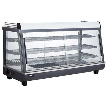 """Commercial Countertop Slanted Heated Display Case Food Warmer 48"""""""