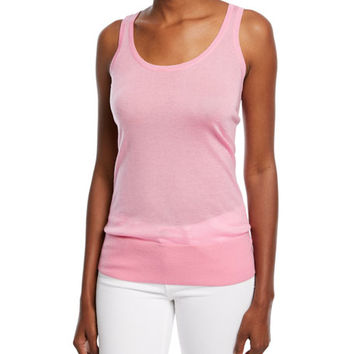 Michael Kors Collection Cashmere Featherweight Tank Top | Neiman Marcus