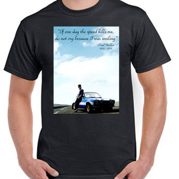 1 Paul walker rip T-shirt