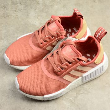 ADIDAS NMD Pink Trending Casual Running Sport Casual Shoes Sneakers Fashion The most fashionable Shoe
