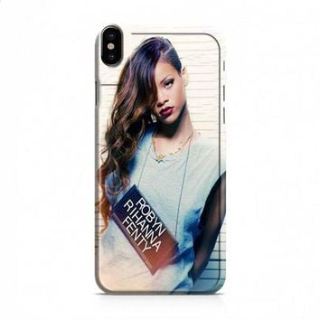 Robyn Rihanna Fenty iPhone X case