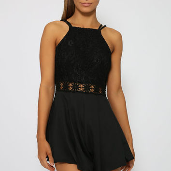 Daycation Playsuit - Black