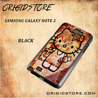 Obey Hello Kitty For Samsung Galaxy Note 2 Snap On and 3D Case