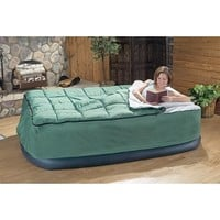 Guide Gear Queen Air Bed Fitted Cover / Sleeping Bag Green