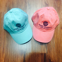 Simply Southern Hat - Coral or Teal
