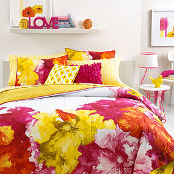 Seventeen Bedding, Silvana Sunset Full/Queen Comforter Set - Bed in a Bag - Bed & Bath - Macy's