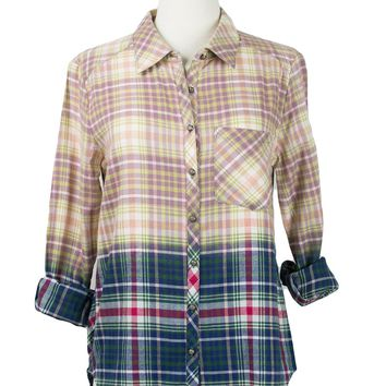 Heavenly Creatures Plaid Top