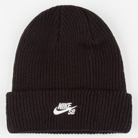 Nike Sb Fisherman Beanie Black One Size For Men 26451810001