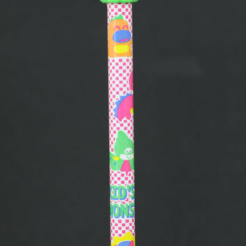 Green Eraser Kid's Monster Pencil