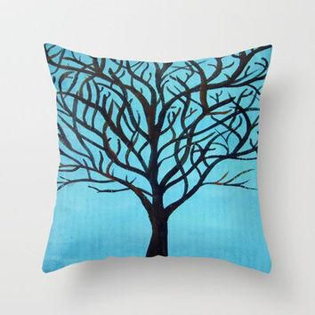 Oak Throw Pillow by Erin Jordan | Society6