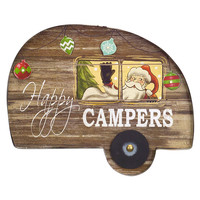 Jolly Holidays Collection LED Vintage Camper