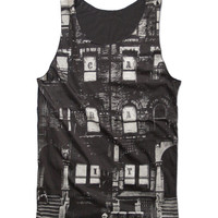 "LED ZEPPELIN ""Physical Graffiti"" Tank Top 70's Album cover NYC Tenement Block Hard Rock Legend Shirt Size S M L"