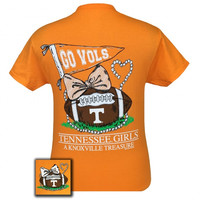Tennessee Vols Volunteer Knoxville Treasure Pearls T-Shirt
