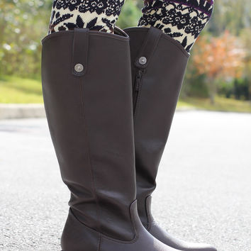 Preppy Rider Boot – Brown