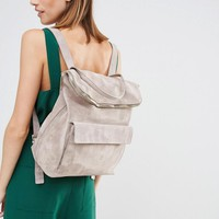 Whistles | Whistles Suede Verity Backpack at ASOS