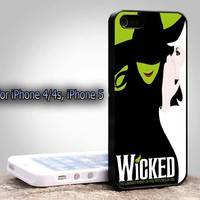 Wicked Broadway The Wizard Of Oz New Design (andk) For Apple Phone, IPhone 4/4S Case, IPhone 5 Case, Cover Plastic