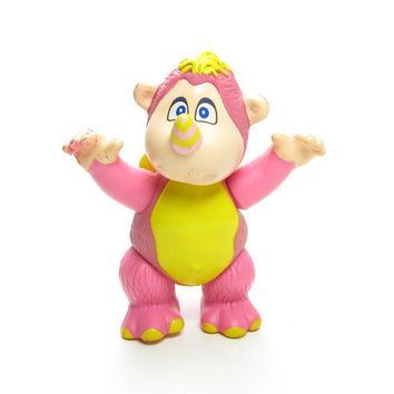 Rhinokey Wuzzles Toy Vintage Disney Poseable Action Figure - Rhinocerous & Monkey Hybrid Animal
