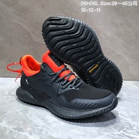 KUYOU A402 Adidas AlphaBounce HPC AMS 3M Bouncetm Forged Mesh Running Shoes Black Red