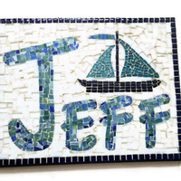 Personalized Mosaic Name Art
