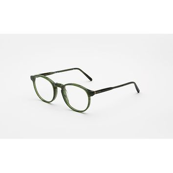Super - Numero 01 50mm Green Eyeglasses / Demo Lenses
