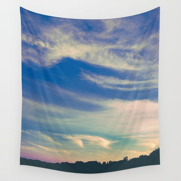 Cross My Mind Wall Tapestry by Faded  Photos