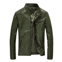 Mens leather jacket