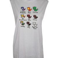 Avengers Super hero Cats Muscle Tee tshirt top GOT Festival Mussle Tee | eBay