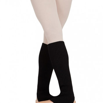 "18"" Stirrup Legwarmers (Black) CS104"