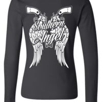 Southern Angel Long Sleve Tee