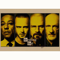 Breaking Bad Cast Poster