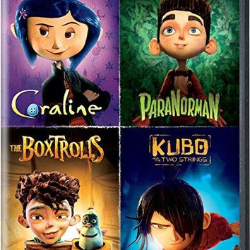 Dakota Fanning & Anna Kendrick & Travis Knight & Henry Selick -The Ultimate Laika Collection Coraline / ParaNorman / The Boxtrolls / Kubo and the Two Strings