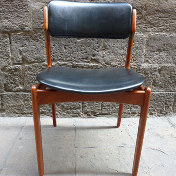 Stunning set of four Scandinavian chairs from the 60's.