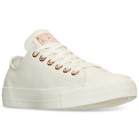 Converse Women's Chuck Taylor Pastel Leather Ox Casual Sneakers from Finish Line | macys.com