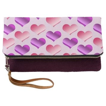 Bunches of Hearts Clutch