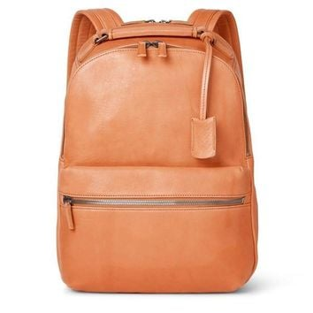 Smooth Tan Backpack by Shinola