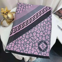 FENDI 2018 winter new trend women's warm fashion shawl scarf