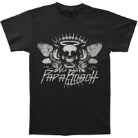 Papa Roach Men's  Cobra Skull Tee T-shirt Black