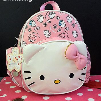 New Cute Hello kitty Backpack Girl Backpack School Bags Purse yey-1336 Kids