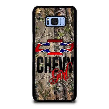 CAMO BROWNING REBEL CHEVY GIRL Samsung Galaxy S8 Plus Case Cover